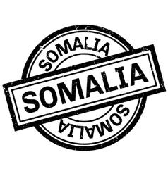 Somalia rubber stamp vector