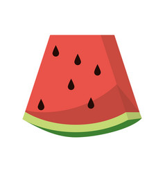 watermelon sweet vitamin nature vector image