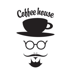 Coffee man vector