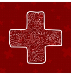 Medicine4 vector image vector image