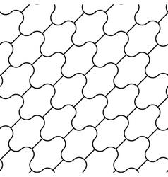 Simple pattern seamless diagonal vector image vector image