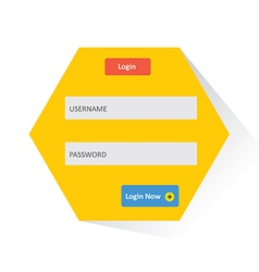 User login 51 vector image vector image