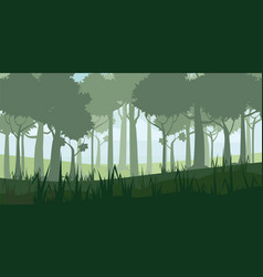 A high quality background landscape with deep vector
