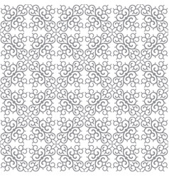 Abstract background seamless central asian pattern vector