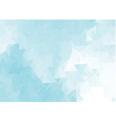 abstract background with gray-blue triangles vector image