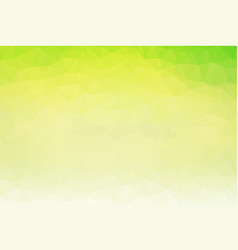 abstract polygon background light green polygonal vector image