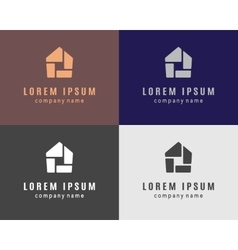 House logo collection vector image