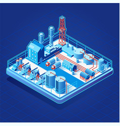 isometric icon or infographic element with vector image