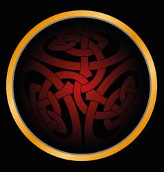 Magic celtic sign vector