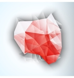 Geometric Triangular Abstract Modern vector image vector image