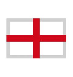 england flag pixel art cartoon retro game style vector image vector image