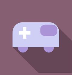 Ambulance emergency vehicle icon car vector