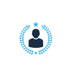 beer user logo icon design vector image
