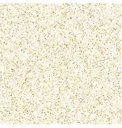 Glitter background cute small falling golden dots vector