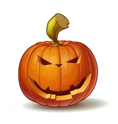 Pumpkins Smiling 4 vector image