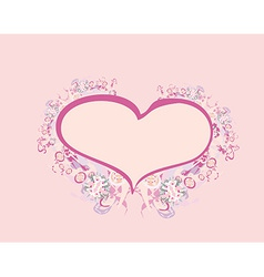 Valentines sweet background with free space for vector