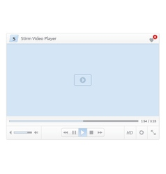 Video player v1 vector image