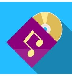 CD icon vector image