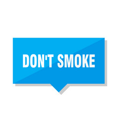 Dont smoke price tag vector