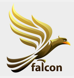 falcon vector image