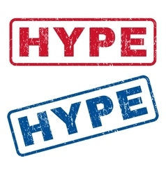 Hype Rubber Stamps vector