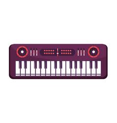 Keyboard isolated icon vector