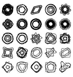 random staps set vector image