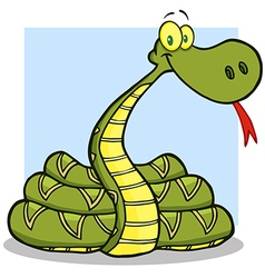 Snake Cartoon Character vector