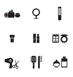 Cosmetics Icons vector image