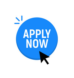 Apply now job submit button icon now vector