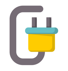 battery energy tool electricity charger positive vector image
