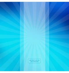 Blue Abstract Blurred Background vector