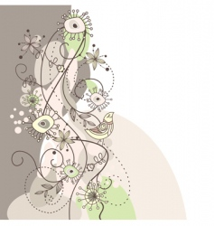 Cute background vector