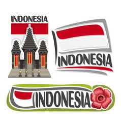 Logo indonesia vector