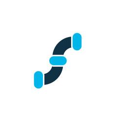 pipeline icon colored symbol premium quality vector image