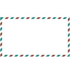 Postal background vector image