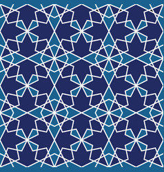 Seamless islamic geometric pattern abstract vector