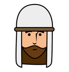 shepherd of bethlehem character vector image