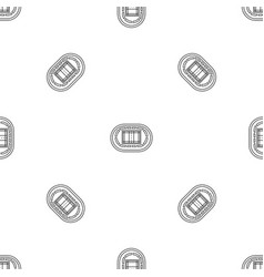 top volleyball arena pattern seamless vector image