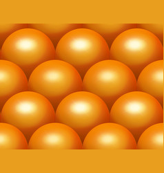 scale sphere seamless pattern vector image vector image