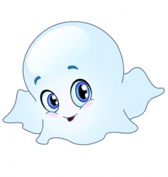 baby ghost vector image vector image
