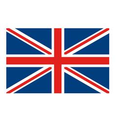 flag united kingdom classic british icon vector image