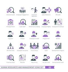 Human resources set 02 vector