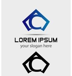 Letter C logo icon design template vector image vector image
