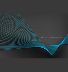 abstract background blue line for design vector image