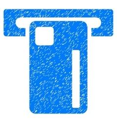 ATM Machine Grainy Texture Icon vector
