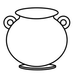 Cauldron of saint patrick vector