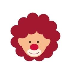 Circus clown cartoon vector