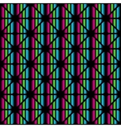 Color geometric seamless pattern from triangles vector