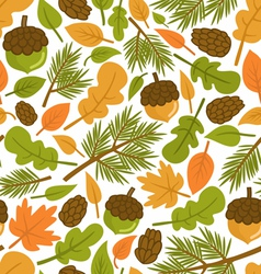 Forest pattern vector